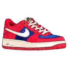 Nike Air Force 1 Low - Boys' Primary Sch. Basketball Shoes (Gym RD/Sail/Deep Ro