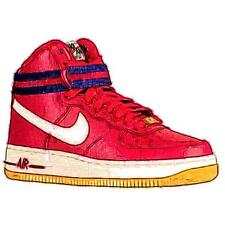 Nike Air Force 1 High - Boys' Primary Sch. Sch. Basketball Shoes (Gym RD/Sail/D