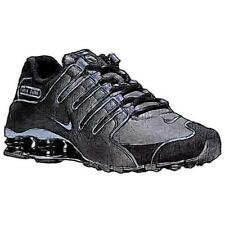 Nike Shox NZ - Men's Running Shoes (Black/Black Width:Medium)