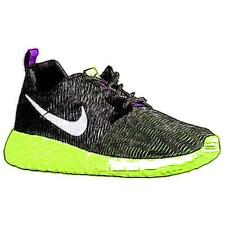 Nike Roshe Run Flight Weight - Girls' Primary Sch. Sch. Running Shoes (BK/WT/Gh