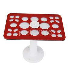 26 Hole Acrylic Makeup Cosmetic Brushes Drying Organizer Holder Rack Stand DIY