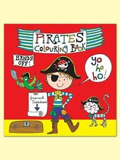 NEW RACHEL ELLEN BOYS PIRATE COLOURING IN BOOK BIRTHDAY HOLIDAY GIFT