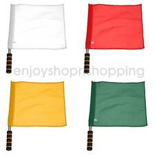 Plain Linesman Flag Football Soccer Rugby Hockey Track and Field Referee Flags