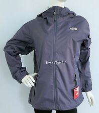 NEW THE NORTH FACE Women's Pare HyVent Rain Jacket GREYSTONE BLUE  MSRP $129