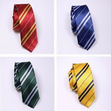Harry Potter Gryffindor/Slytherin/Ravenclaw/Hufflepuff Necktie Tie Accessory