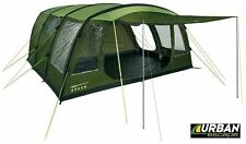 6 Man Berth Person Inflatable Green Air Tent & Canopy, Double Skin, 3000mm HH