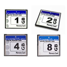 Lot Of 5 x 1GB 2GB 4GB 8GB 16GB Compact Flash CF Memory Card for Ditigal Camera