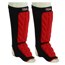 Brand New Shin INSTEP Pad MMA Guards Kickboxing muay thai Leg & Foot Protectors