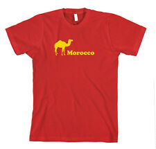 Morocco Cotton Unisex T-Shirt Tee Shirt Top