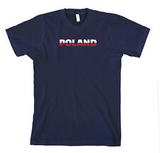 Poland Cotton Unisex T-Shirt Tee Shirt Top