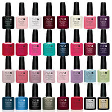 CND Shellac UV Nail Polish Choose from ANY NEW Colours Base Coat Top Coat 0510S1
