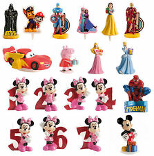 Official Licensed Disney / Various Birthday Party Candle Star Wars Mickey Mouse