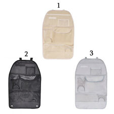 Car Back Seat Organizer Holder Multi-Pocket Travel Storage Bag Hanger Useful
