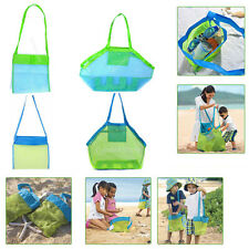 Portable Kids Sand Object Collect Toys Mesh Bag Tote Beach Storage Bag Baby Toys