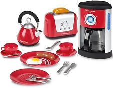 Casdon MORPHY RICHARDS KITCHEN SET Kettle Toaster Role Play Kids Toy/Gift BN