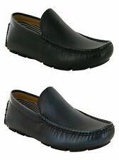 MENS CASUAL FORMAL OFFICE SMART SLIP ON LOAFERS DRESS SHOES UK SIZE 6-11
