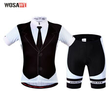 Men Breathable Cycling Jersey Bike Bicycle Clothing Short Sleeve Suit Short Set