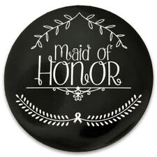 PinMart's Wedding Day Bacherlorette Bridal Party - Maid of Honor Button