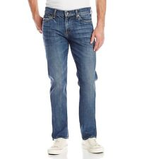 7 For All Mankind Men's Slimmy Slim Straight Jeans Sierra Mirage $208 msrp NWT