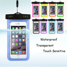 Pouch Dry Bag Case Cover Underwater For iPhone Cell Phone Touchscreen Waterproof
