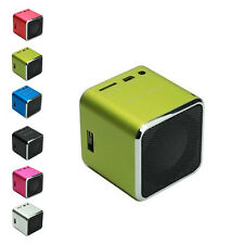 Portable Mini USB Stereo Speaker Music Player FM Radio MP3/4 Micro SD