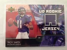 NFL American Football jersey Trading Card  Baltimore Ravens Troy Smith