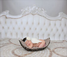 White Girls Boys Costume Prop Outfits Newborn Baby Photo Photography Angel Wings