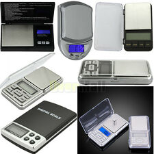 0.1g/0.01g 100g/200g/500g Mini Digital Pocket Professional Jewelry Weight Scale