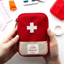Portable Home Travel Camping Medical Bag Emergency Survival First Aid Kit Bag JR
