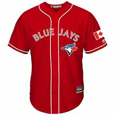 Toronto Blue Jays Canada Day Men's Cool Base Replica Jersey
