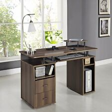 STUDY PC Computer desk with drawers Home Office Furniture Workstation Table