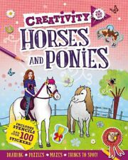 Creativity on the Go: Horses and Ponies by Andrea Pinnington Paperback Book