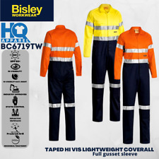 BISLEY SAFETYWEAR COVERALLS 3M TAPED LIGHTWEIGHT COVERALL 2 TONE BC6719TW