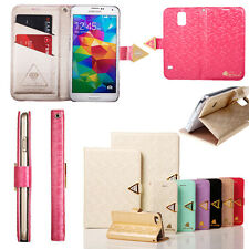 For iPhone 4 5 6G 6Plus Elegant Stand Leather Magnetic Wallet Cases Cover Flip