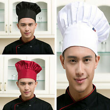 Elastic Cap Adjustable Baker Chef Hat Men Cook Fashion Catering Kitchen