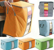 Portable Large New Storage Bag Pouch quilt beding Underbed Bamboo Clothing