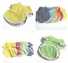 Clothes T- Shirt  6 Colors Pet Summer Shirt  Puppy Apparel Small Dog Cat Vest