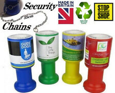 Charity Donation Collection Money Tin Pot Box Fundraising Wedding Security Chain