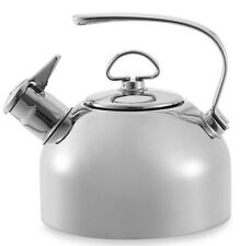 Chantal 1.8-Quart Stainless Steel Tea Kettle Harmonica Whistle Alert Teakettle