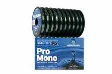 2 x WSB PRO Premier Monofilament Fishing Line Coarse -Carp Fishing (100m Spools)