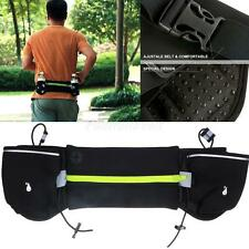 Utility Running Gym Cycling Hiking Water Bottle Holder Waist Belt Bum Bag