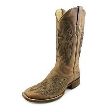 Corral A2871 Men  Square Toe Leather Brown Western Boot