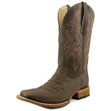 Circle G by Corral L5099 Men  Square Toe Leather Brown Western Boot