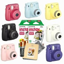 NEW Fujifilm instax mini 8 instant camera - 30 instax film - instax photo album