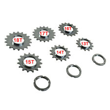 Fixie Bicycle Sprocket Fixed Gear Single Speed Cog Threaded Lock Ring 13T-18T