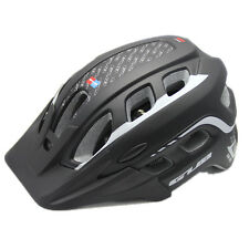 Unisex Adult Mountain Bike Bicycle Cycling Safety Helmet with Visor Adjustable