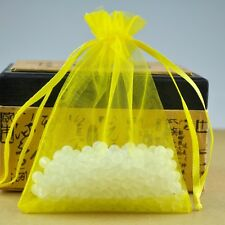 Yellow Organza Wedding Premium Organza Favour Candy Bags Jewelry Packing Pouches