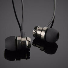 Useful MobilePhone Accessories Headset Metal Turbine In-ear Headphones With Mic