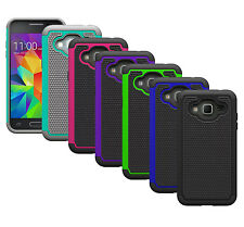 For Samsung Galaxy J3 Case Shockproof Dual Layer Hybrid Armor Protective Cover