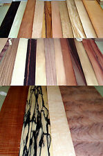 WOOD VENEER SHEETS CONNOISSEUR SELECTION SET 2 FOR MARQUETRY,RESTORATION.CRAFTS.